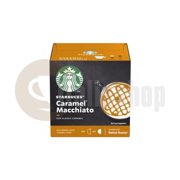 Starbucks Caramel Macchiato Κάψουλες Για Dolce Gusto - 12 Τεμ.