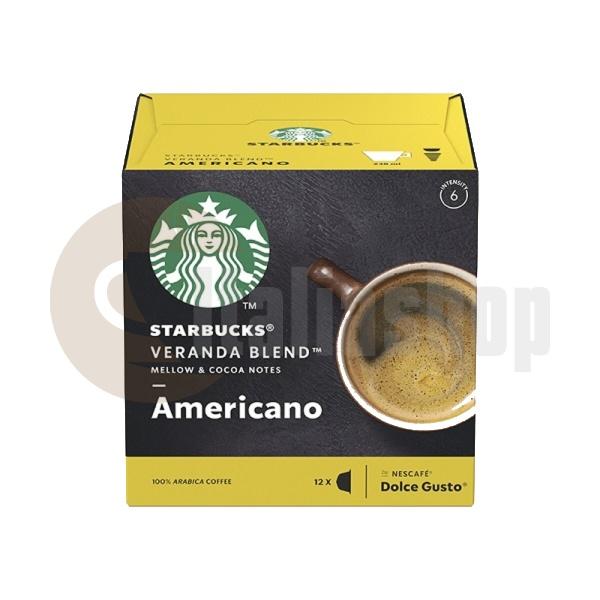 Starbucks Veranda Blend Americano Κάψουλες Για Dolce Gusto - 12 Τεμ.