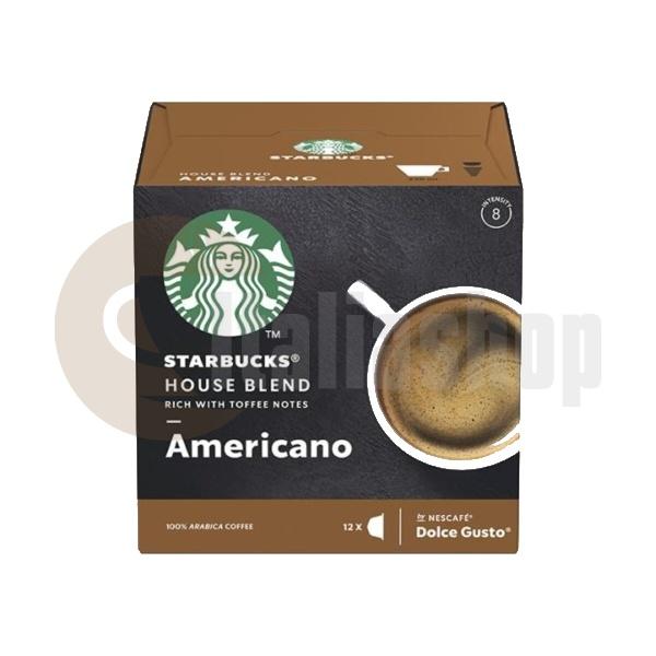 Starbucks House Blend Americano Κάψουλες Για Dolce Gusto - 12 Τεμ.