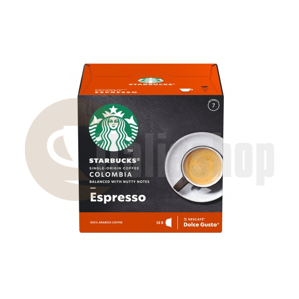 Starbucks Colombia Espresso Κάψουλες Για Dolce Gusto - 12 Τεμ.