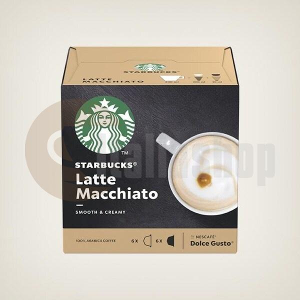 Starbucks Latte Macchiato Κάψουλες Για Dolce Gusto - 12 Τεμ.