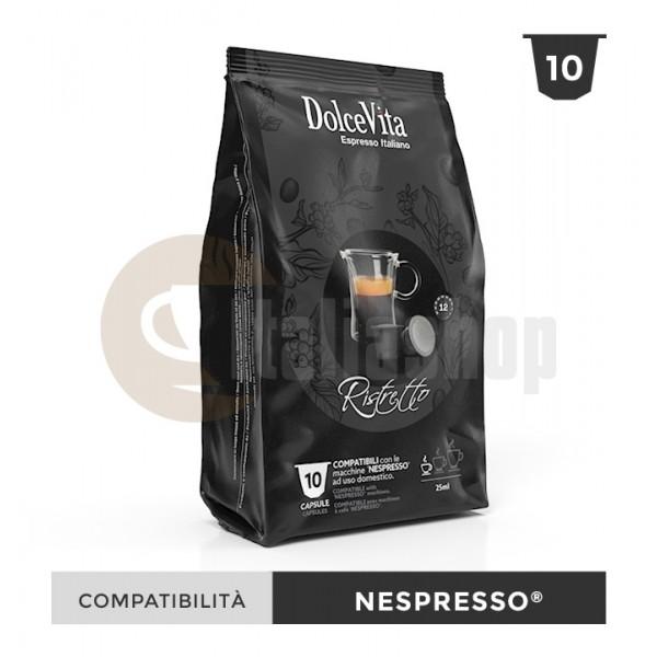 Dolce Vita Κάψουλες Συμβατές Για Nespresso Ristretto - 10 Τεμ.