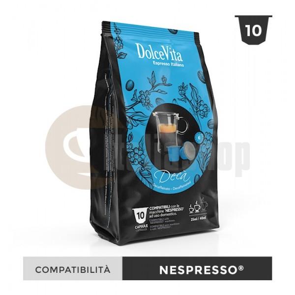 Dolce Vita Κάψουλες Συμβατές Για Nespresso Deca - 10 Τεμ.
