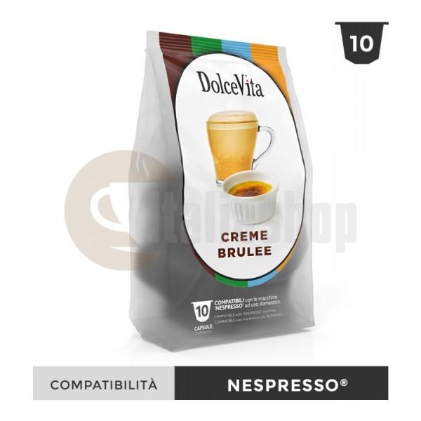 Dolce Vita Κάψουλες Συμβατές Για Nespresso Creme Brulee - 10 Τεμ.