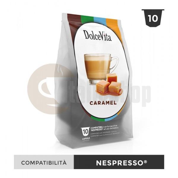 Dolce Vita Κάψουλες Συμβατές Για Nespresso Caramelito - 10 Τεμ.