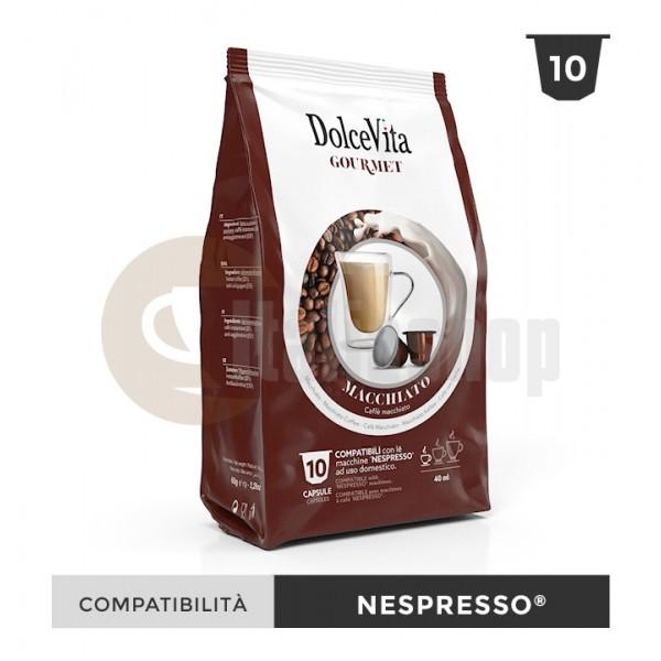 Dolce Vita Κάψουλες Συμβατές Για Nespresso Macchiato - 10 Τεμ.