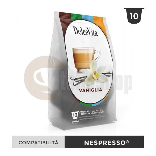 Dolce Vita Κάψουλες Συμβατές Για Nespresso Vaniglietta - 10 Τεμ.