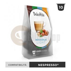 Dolce Vita Κάψουλες Συμβατές Για Nespresso Nocciolino Light - 10 Τεμ.