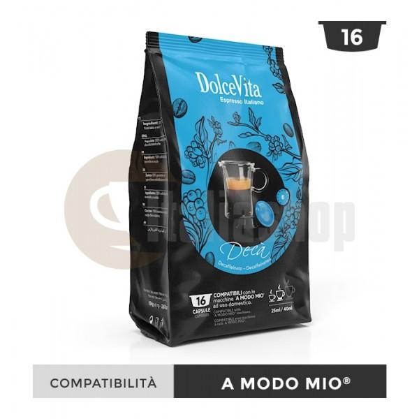 Dolce Vita Κάψουλες Συμβατές Για Lavazza A Modo Mio Deca - 16 Τεμ.