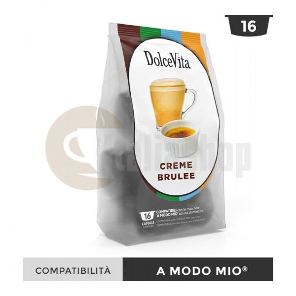 Dolce Vita Κάψουλες Συμβατές Για Lavazza A Modo Mio Creme Brulee - 16 Τεμ.