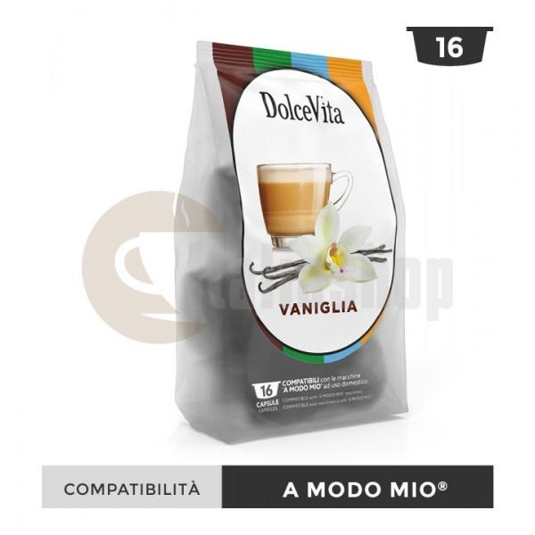 Dolce Vita Κάψουλες Συμβατές Για Lavazza A Modo Mio Vaniglietta - 16 Τεμ.