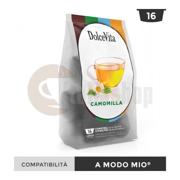 Dolce Vita Κάψουλες Συμβατές Για Lavazza A Modo Mio Camomilla - 16 Τεμ.
