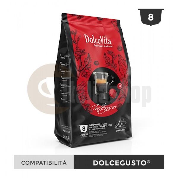 Dolce Vita Κάψουλες Συμβατές Για Dolce Gusto Intenso - 8 Τεμ.