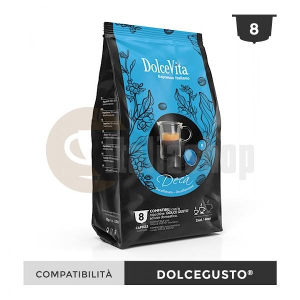 Dolce Vita Κάψουλες Συμβατές Για Dolce Gusto Deca - 8 Τεμ.