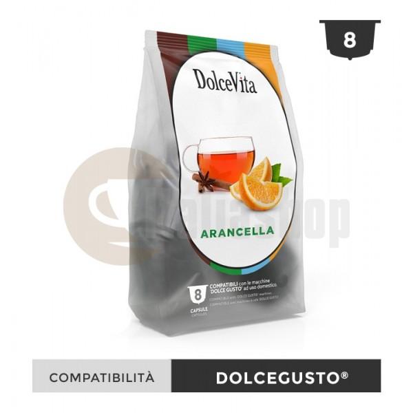 Dolce Vita Κάψουλες Συμβατές Για Dolce Gusto Arancella - 8 Τεμ.