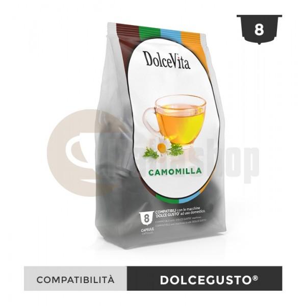 Dolce Vita Κάψουλες Συμβατές Για Dolce Gusto Camomilla - 8 Τεμ.