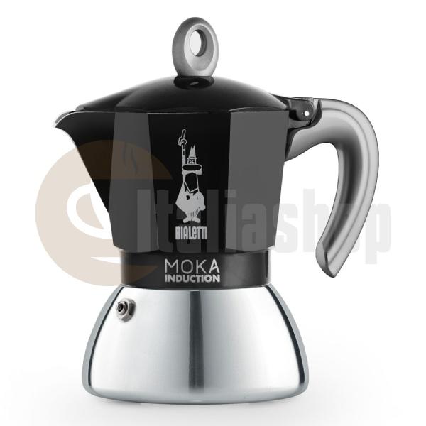 Bialetti Moka Induction Καφετιέρα Χειρός Espresso Για 4 Φλιτζάνια