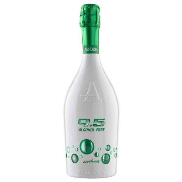 Astoria Λευκό Αφρώδες Κρασί 9.5 Alcohol Free Zerotondo