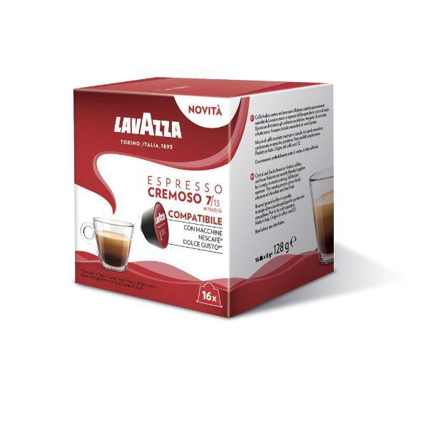 Lavazza Συμβατές Κάψουλες Για Dolce Gusto Espresso Cremoso - 16 Τεμ.