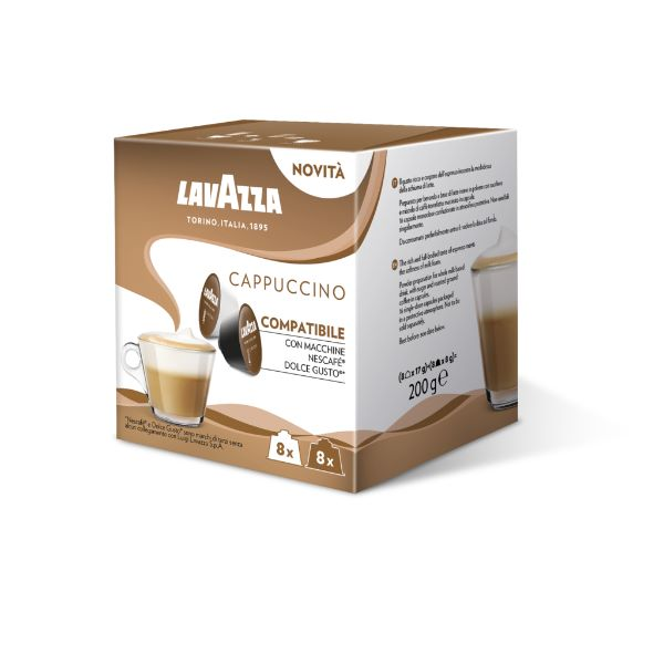 Lavazza Συμβατές Κάψουλες Για Dolce Gusto Cappuccino