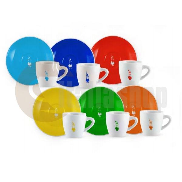 Bialetti Le Colorate Σετ Φλιτζάνια Espresso - 6 Τεμ.