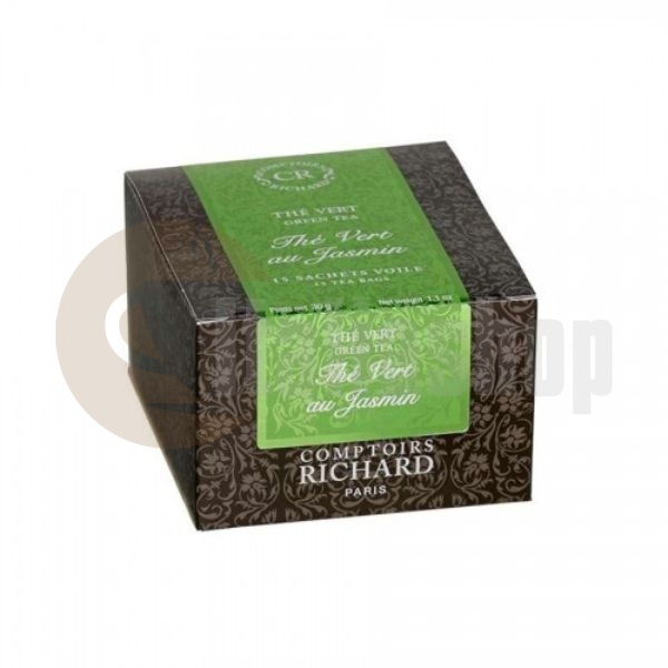 Cafes Richard Πράσινο Τσάι Jasmine - 15 Τεμ.