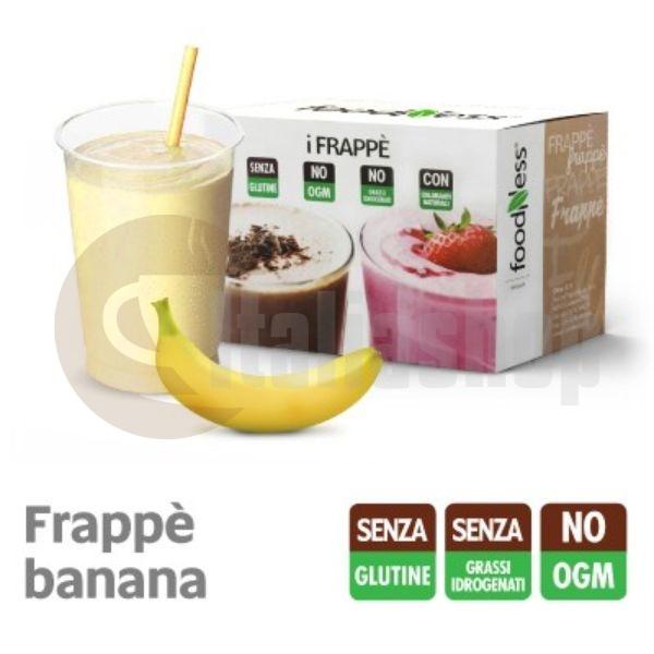 Foodness iFrappe Milk Shake με Γεύση Μπανάνας