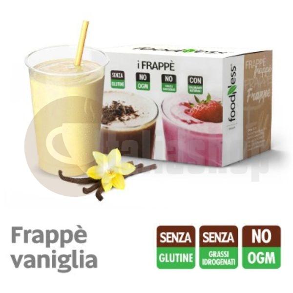 Foodness iFrappe Milk Shake με Γεύση Βανίλιας