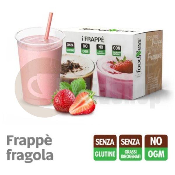 Foodness iFrappe Milk Shake με Γεύση Φράουλας