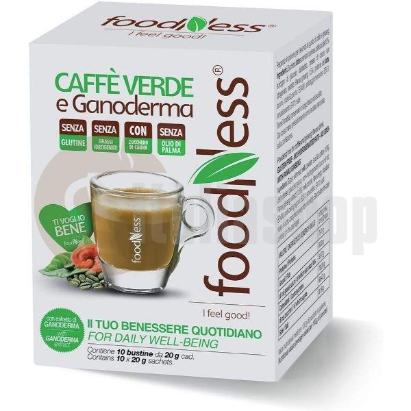Foodness Ρόφημα Green Coffee με Ganoderma