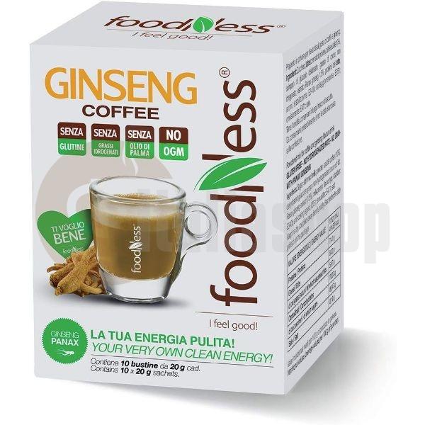 Foodness Ρόφημα Καφές με Ginseng