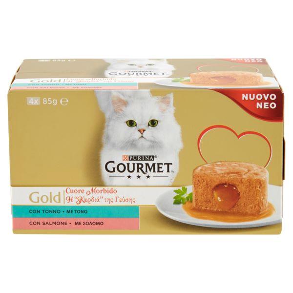 Γατοτροφή Gourmet® Gold Πατέ Τόνο και Σολομό