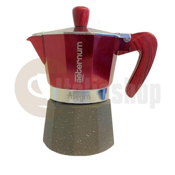 Aeternum Allegra Καφετιέρα Χειρός Гια 3 Φλιτζάνια
