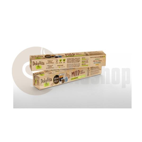 Dolce Vita Συμβατές Κάψουλες Για Nespresso Mild - 10 Τεμ