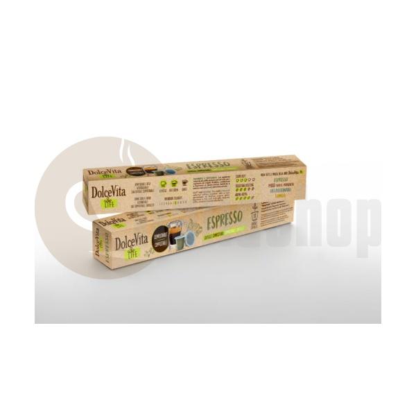 Dolce Vita Συμβατές Κάψουλες Για Nespresso Espresso - 10 Τεμ