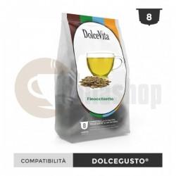 Dolce Vita Συμβατές Κάψουλες Για Dolce Gusto Finocchietto - 8 Τεμ