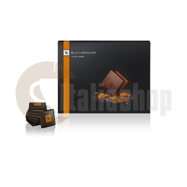 Nespresso Κομμάτια Σοκολάτας Γάλακτος με Αλατισμένη Καραμέλα