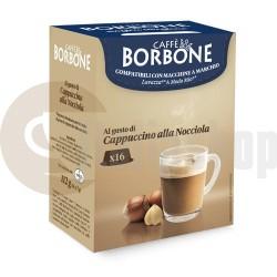 Borbone Συμβατές Κάψουλες για Lavazza A Modo Mio Cappuccino alla Nocciola - 16 Τεμ.