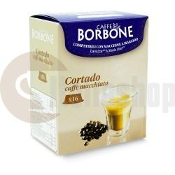 Borbone Συμβατές Κάψουλες για Lavazza A Modo Mio Cortado - 16 Τεμ.