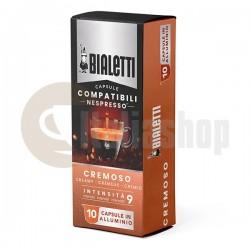 Bialetti Συμβατές Κάψουλες γιαNespresso Cremoso 10 pcs