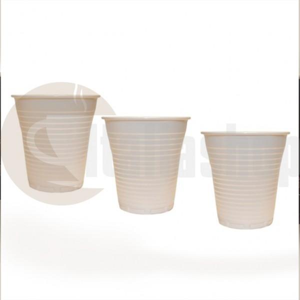 Espresso Café Πλαστικά Ποτήρια - 100 Τεμ.
