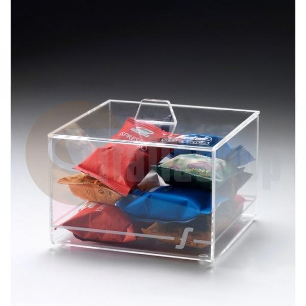 Segafredo Διάφανο Κουτί για Κάψουλες