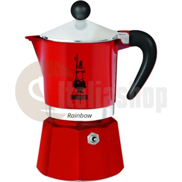 Bialetti Rainbow Καφετιέρα Χειρός Espresso Για 3 Φλιτζάνια