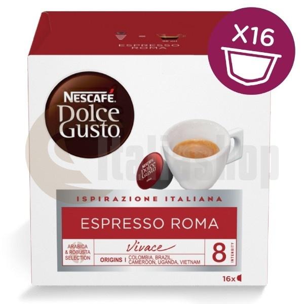 Dolce Gusto Espresso Roma - 16 Τεμ.