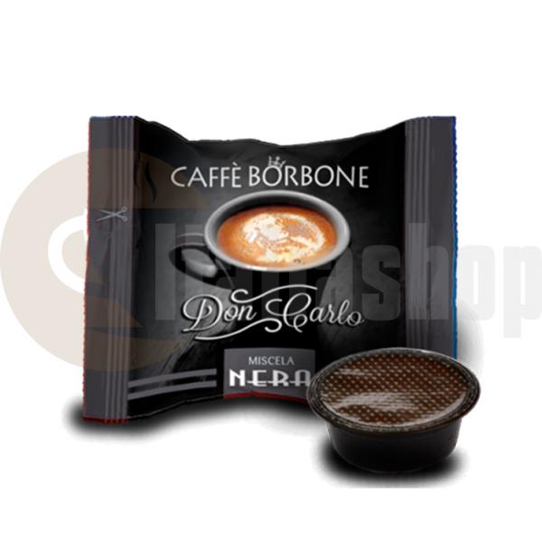 Lavazza A Modo Mio Συμβατές Κάψουλες Borbone Nero - 50 Τεμ.