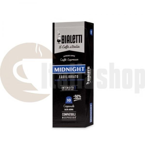 Nespresso Συμβατές Κάψουλες Bialetti Midnight - 10 Τεμ.