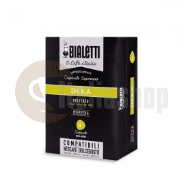 Bialetti Deka Συμβατές Κάψουλες Για Dolce Gusto - 16 Τεμ.