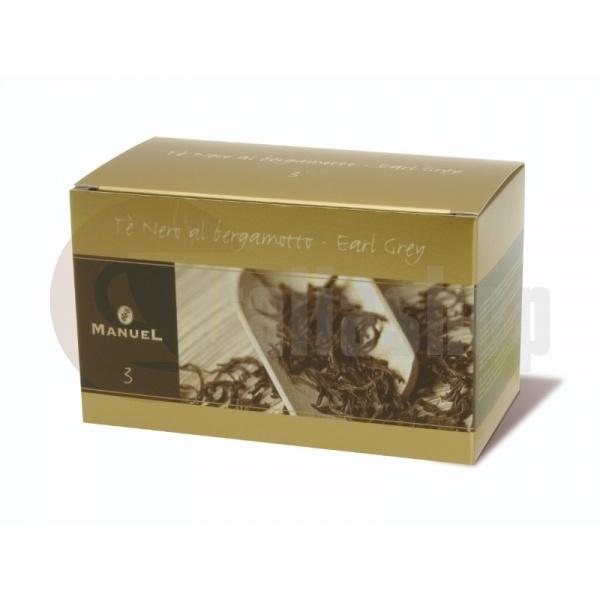 Manuel Μαύρο Τσάι με Περγαμόντο №3