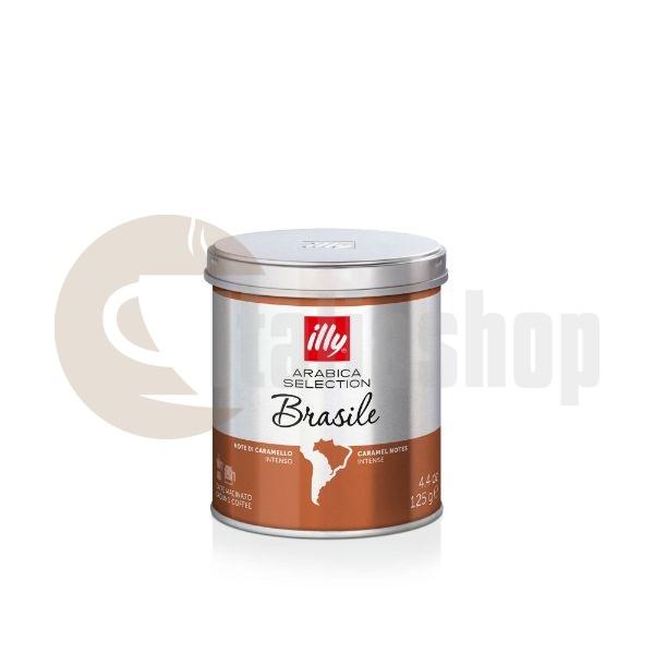 Illy Brasile Αλεσμένος Καφές - 125 gr.