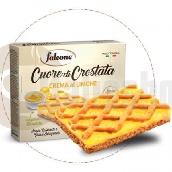 Falcone Crostata Crema Al Limone  - 4 Τεμ. Στη Συσκευασία